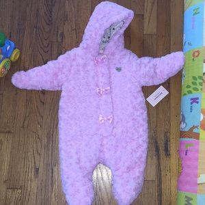 Juicy couture bear suit 6-9 month